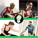 Беспроводные наушники блютуз гарнитура Bluetooth наушники 5.0 Wi-pods XG-21. Зеленые, фото 8