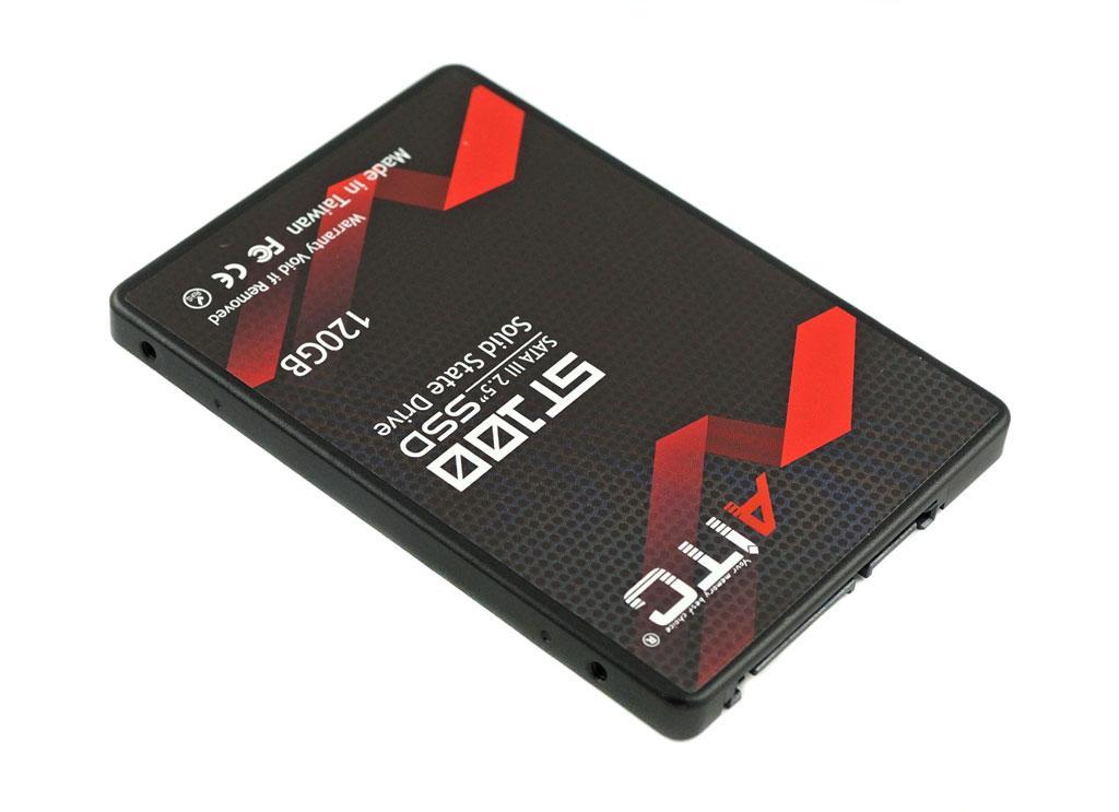 """SSD диск 120GB (ССД 120 ГБ) для ноутбука и ПК высокой скорости 2.5"""" AITC AIST100S120 SATA Ⅲ"""