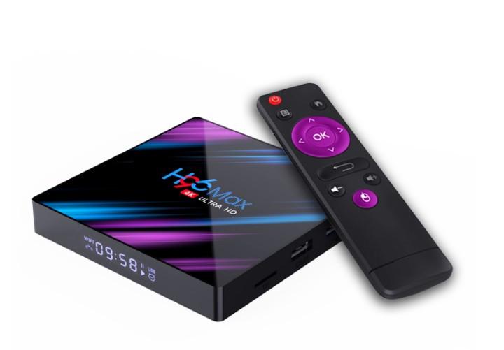 Смарт ТВ приставка H96 MAX 4/32GB Android 9.0 Smart TV Box