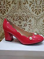 Туфли женские,женские красные туфли лаковые эко кожа, классические