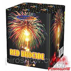 Салютная установка RED BROCADE 9 выстрелов/25 калибр
