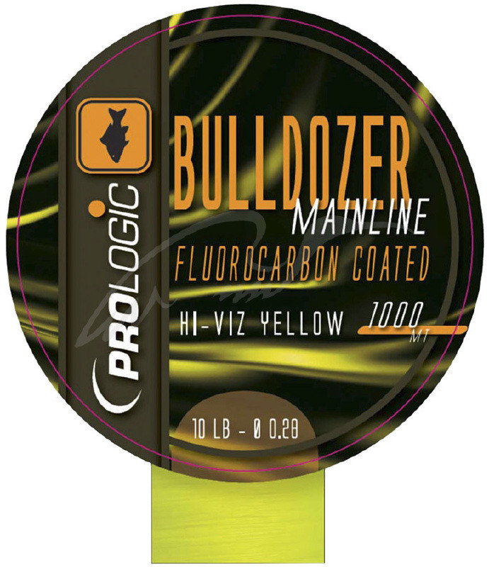 Волосінь Prologic Bulldozer FC Coated Mono Fluo 1000m 18lbs 0.37 mm ц:yellow