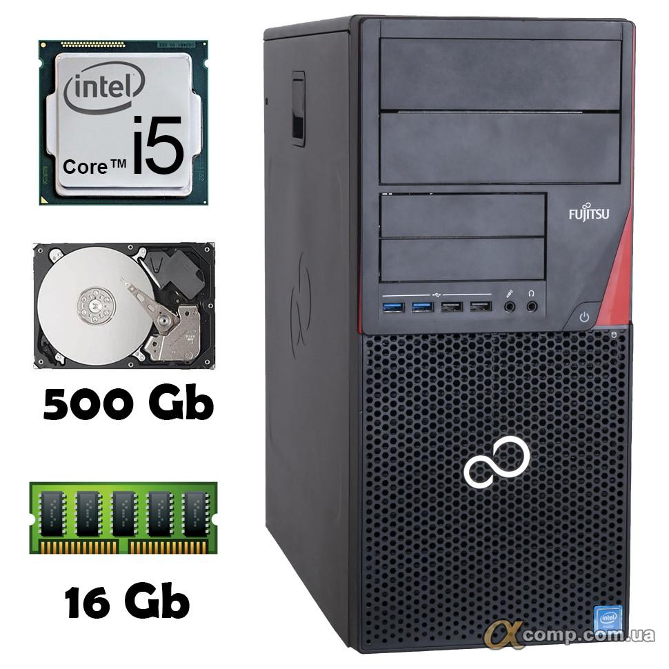 Компьютер Fujitsu P720 (i5-4430 • 16Gb • 500Gb)