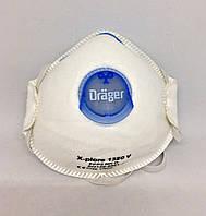Маска защитная c клапаном Drager, FFP2, 1 шт., фото 1