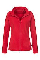 Флисовая кофта женская красная Stedman - SRECT5100