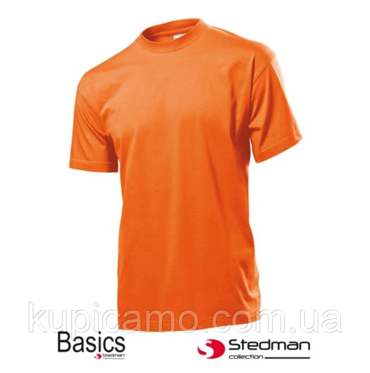 """Профессиональная рабочая футболка 100% cotton """"STEDMAN"""" Германия ( оранжевая)"""