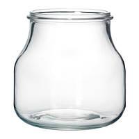 ЭНСИДИГ ваза, стекло, 16 см