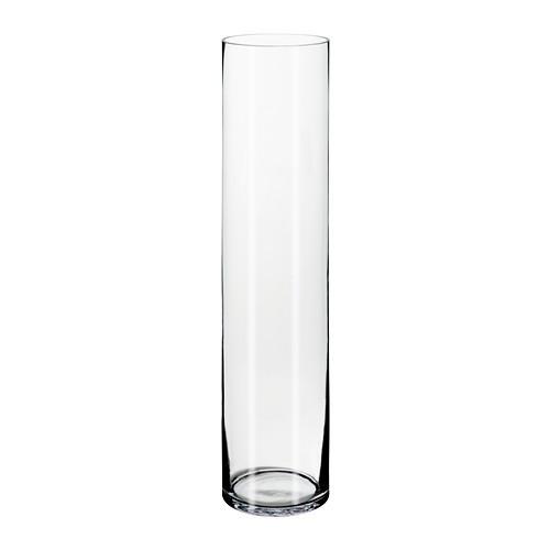 ЦИЛИНДР Ваза,прозрачное стекло