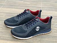 Кросівки чоловічі шкіряні eGoist 213 сін розміри 40,43, фото 1
