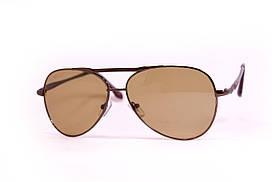 Стеклянные коричневые очки 9501-2