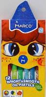 Пастель-олія 12 цв. Marco Colorite