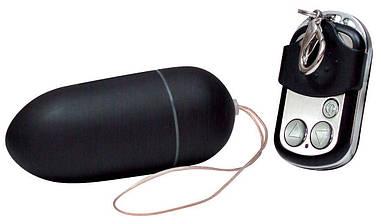 Виброяйцо Black & Silky с пультом ДУ от Orion