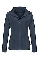 Флисовая кофта женская темно-синяя Stedman - BLMCT5100