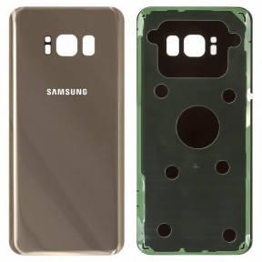 Задняя крышка Samsung G950F Galaxy S8 (2017) золотистая, Maple Gold Оригинал Китай, фото 2