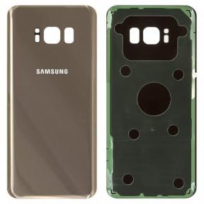 Задня кришка Samsung G950F Galaxy S8 (2017) золотиста, Maple Gold Оригінал Китай