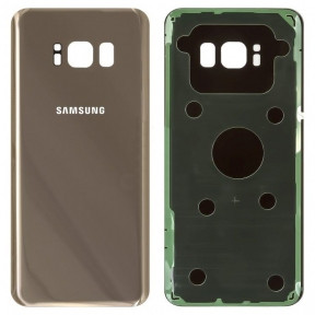 Задняя крышка Samsung G950F Galaxy S8 (2017) золотистая, Maple Gold Оригинал Китай