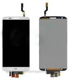 Дисплей LG G2 D802 White (10 pin touch) complete