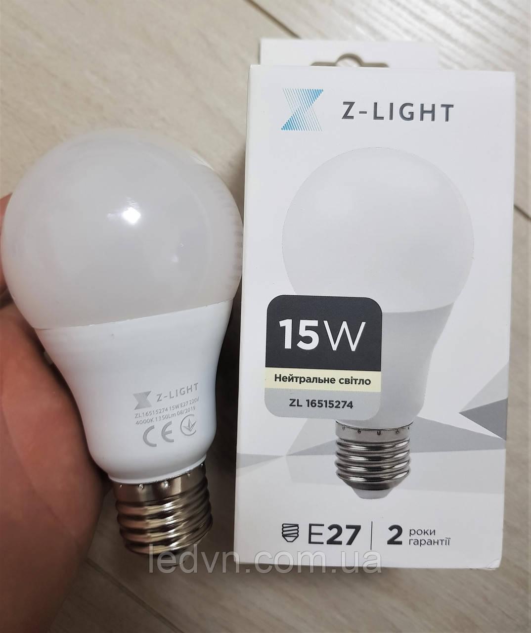 Лампа світлодіодна Z-light 15W