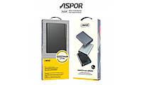 Внешний аккумулятор Power Bank Aspor A329 10000mAh (Повер банк Аспор)