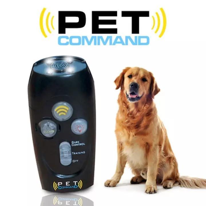 Ультразвуковой прибор для дрессировки собак Pet Command Training System (свисток, отпугиватель + манок)