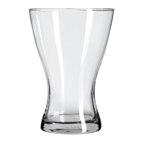 """ИКЕА """"ВАСЕН"""" Ваза,прозрачное стекло"""