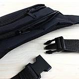 Поясная сумка бананка ЭМЧЭНЭМ 21128 черная, фото 2