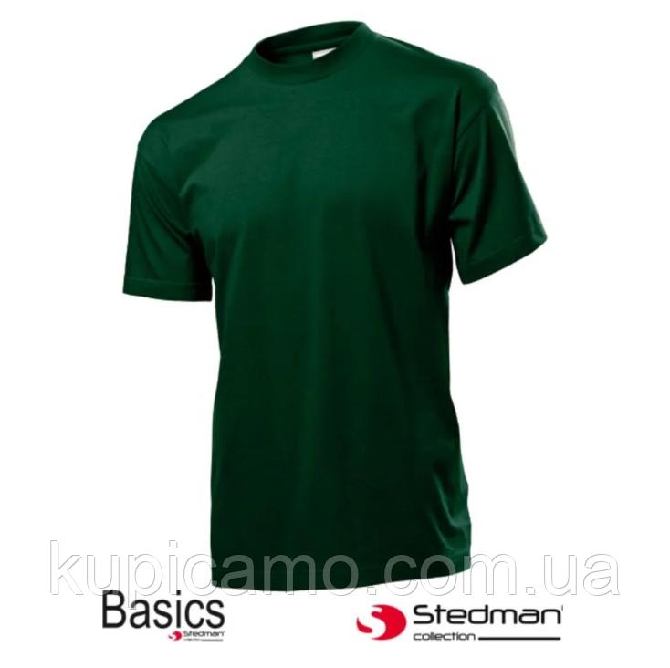 """Профессиональная рабочая футболка 100% cotton """"STEDMAN"""" Германия (зеленая)"""