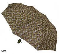 Женский зонт полуавтомат мелкие круги