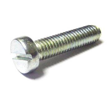 Винт латунный никелированный MMG DIN 84  M2.5 х 6  200 шт