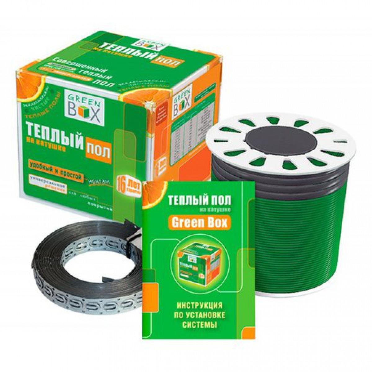 """Кабель нагрівальний """"Green Box"""" GB 17,5 м/200 Вт"""