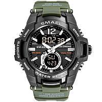 Smael SANDA 1805 зеленые мужские спортивные  часы, фото 1