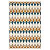 IKEA VETTERSLEV Ковер безворсовый ручной работы, разноцветный, 170x240 см (404.674.02)