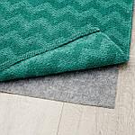 IKEA BREDEVAD Ковер безворсовый, зигзаг зеленый, 75x150 см (104.550.85), фото 4