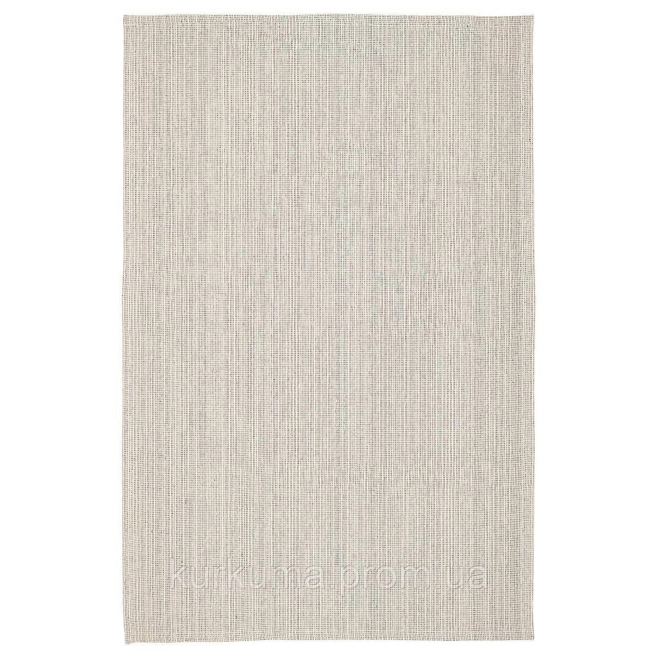 IKEA TIPHEDE Ковер безворсовый, натуральный, кремовый, 120x180 см (404.567.57)