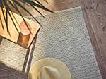 IKEA TIPHEDE Ковер безворсовый, натуральный, кремовый, 120x180 см (404.567.57), фото 5