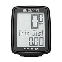 Велокомп'ютер Sigma Sport BC 7.16 Black (SD07160)