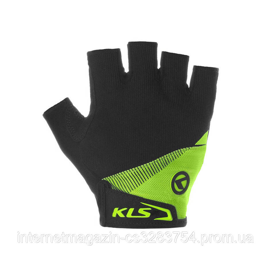 Велорукавиці KLS Comfort 2018 S Black-Light Green (xirmhx)