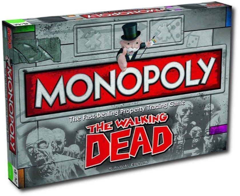Настольная игра Winning Moves Monopoly - Walking Dead (21470)