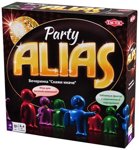 Настольная игра Tactic Party Alias (53365)