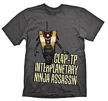 Футболка Gaya Borderlands T-Shirt - ClapTrap Assassin L