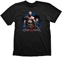 Футболка Gaya God of War T-Shirt - Kratos & Atreus XL