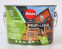 Лазурь для дерева Altax Profi-Lasur Protector 2,5л тик