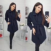 Пальто, Ткань: Турецкий кашемир на подкладе,  р-р 42-44-46,  цвет ( Чёрный )