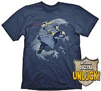 Футболка Gaya DOTA 2 T-Shirt - Kunkka + Ingame Code, L