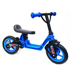 Беговел детский Kinderway 11-014 EVA колеса синий