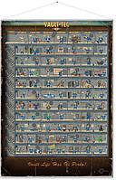 Постер Gaya Fallout Wallscroll - Skill Tree