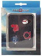 Значок Gaya God of War Pin Set - Norse