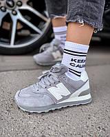 Кроссовки New Balance 574 gray, фото 1