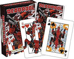 Настольная игра Aquarius Deadpool Mirror - Playing Card Deck