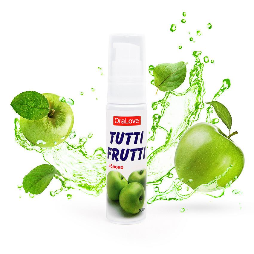 "Гель ""Tutti-frutti яблоко"" серии ""oralove"" 30г"